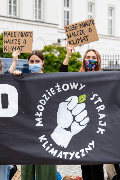 POL: Youth Protest For Climate In Warsaw