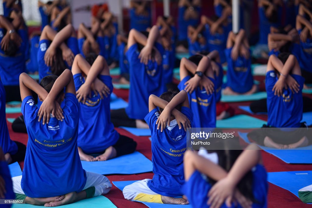 International Yoga Day In Karhmandu