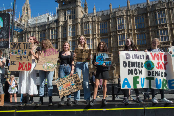 GBR: Activists In London Join The Global Climate Strike
