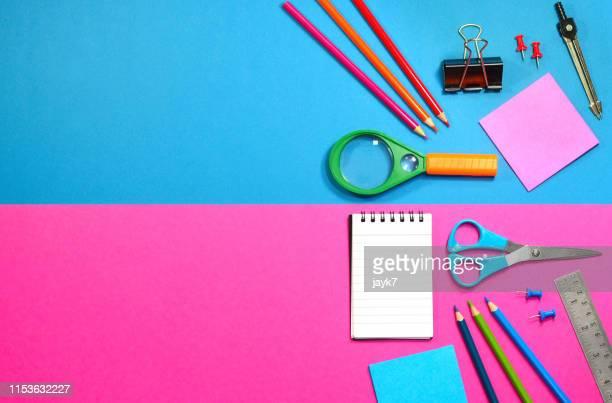 school supplies - 新学期 ストックフォトと画像