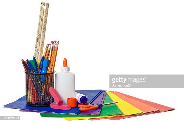 school supplies - scissors stock pictures, royalty-free photos & images