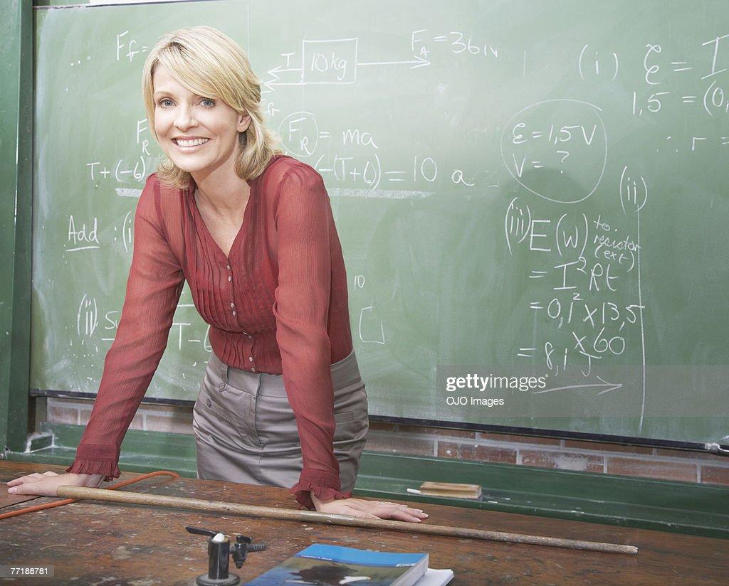 A school teacher : Stock Photo