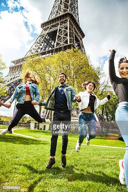 School trip in Paris - Outdoor lessons - Tour Eiffel