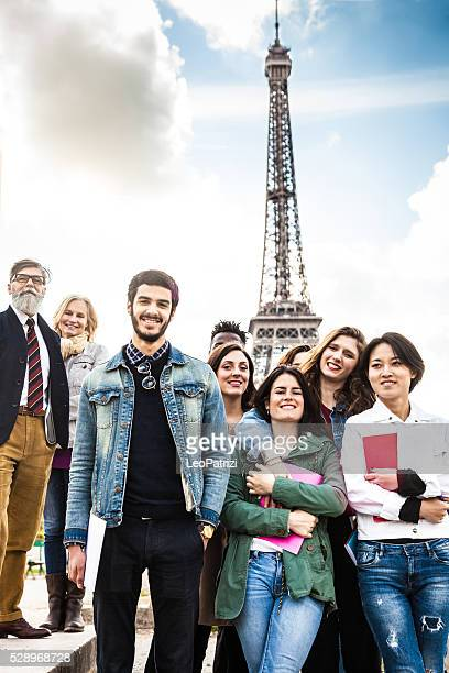 Escuela viaje en París-lecciones al aire libre-Tour Eiffel