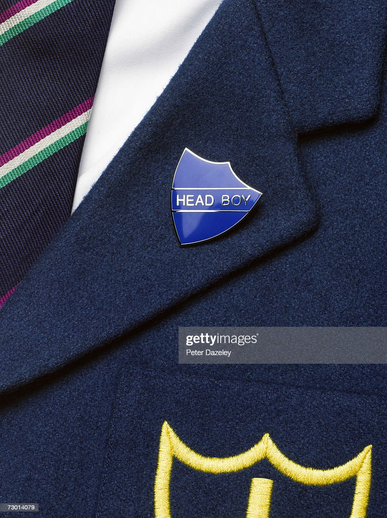 School uniform, close-up : Stock Photo