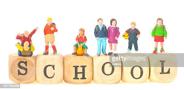 Schule Schüler und Lehrer