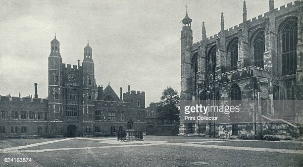 School Yard and Chapel' 1926 Eton College is a boarding independent school for boys in Eton Berkshire near Windsor founded in 1440 by King Henry VI...