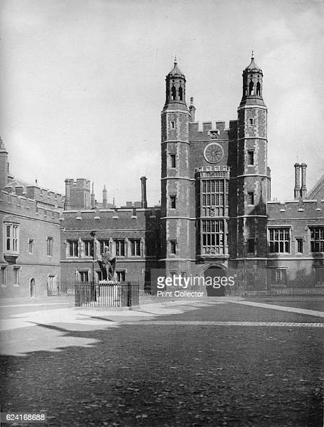 School Yard and Lupton's Tower' 1926 Roger Lupton was an English lawyer and cleric who was appointed as Provost of Eton College Lupton's Tower a bell...