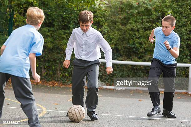 School Yard Soccer Competition