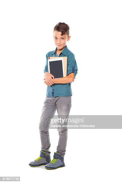 Schulkind-Nur Jungen