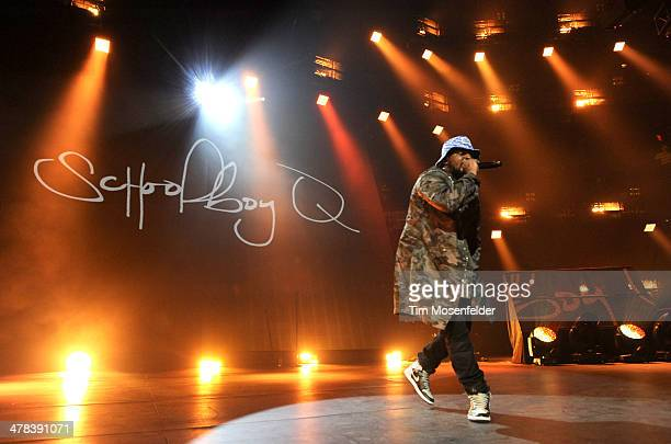 Schoolboy Q performs as part of the iTunes Festival at the Moody Theater on March 12 2014 in Austin Texas