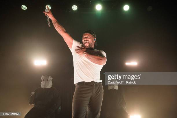 Schoolboy Q performs at Le Bataclan on February 1 2020 in Paris France