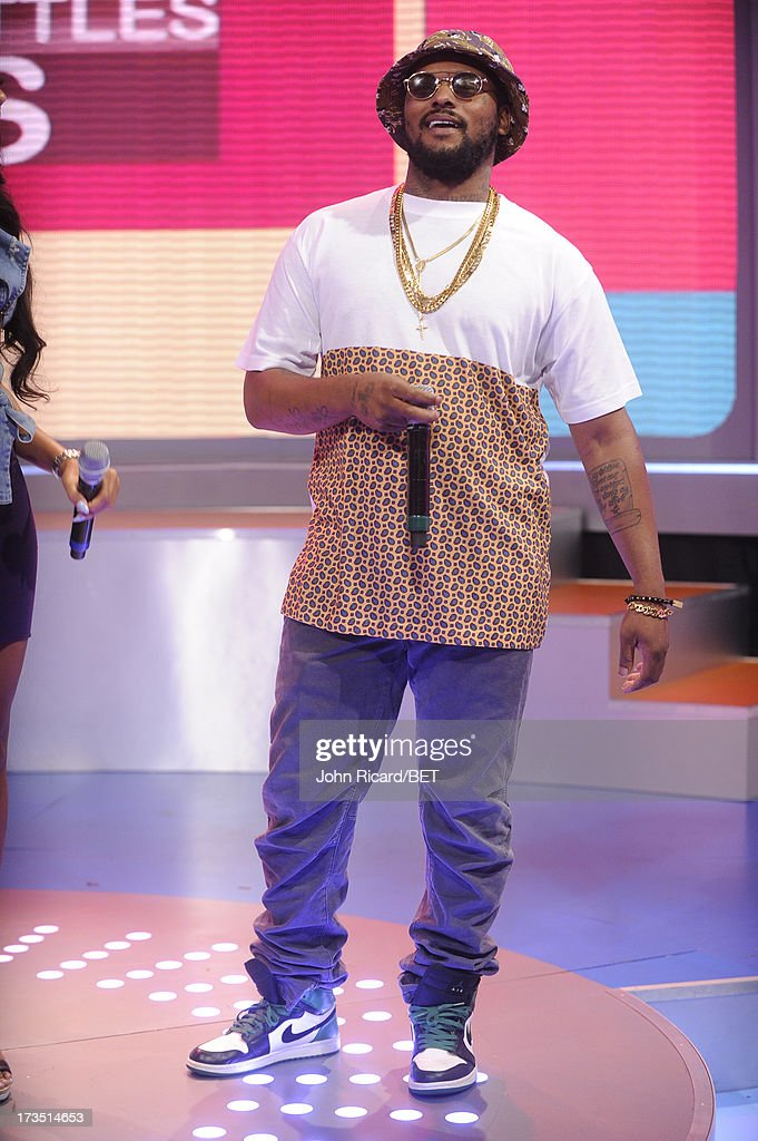 Schoolboy Q visits BET's 106 & Park at BET Studios on July 15, 2013 in New York City.