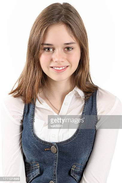 schoolgirl - female high school student stock photos and pictures