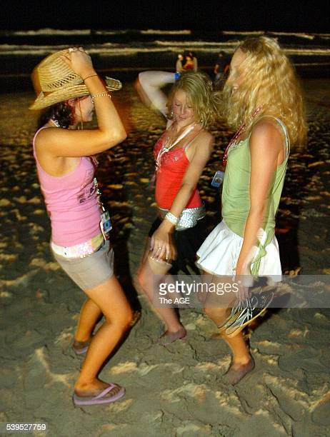Schoolies hit Surfers paradise on the Gold Coast in Queensland The annual end of year party for HSC School leavers in the Cavill Avenue Mall and...