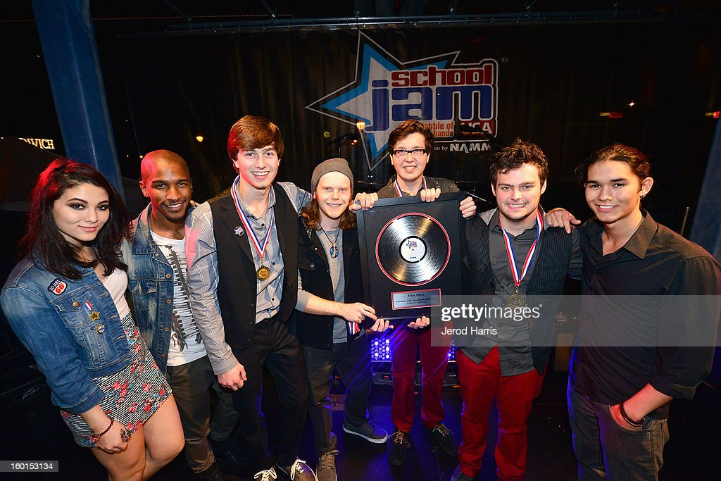 Best Teen Band In The USA Announced At NAMM's SchoolJam USA