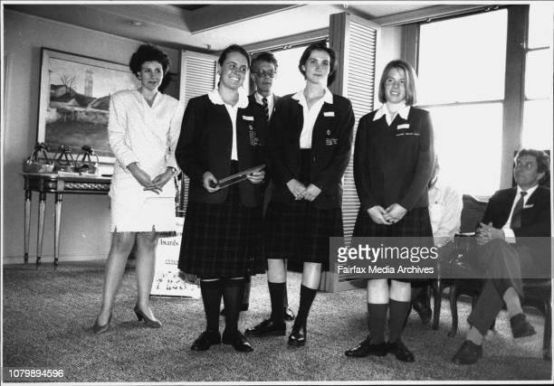 SMH Schools journalism awardsThe Finalists and winning school December 01 1992