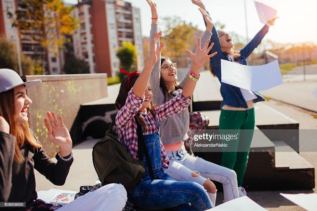 School's over : Stock Photo