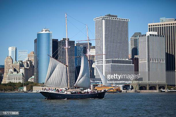 nyc schooner - south street seaport stock pictures, royalty-free photos & images