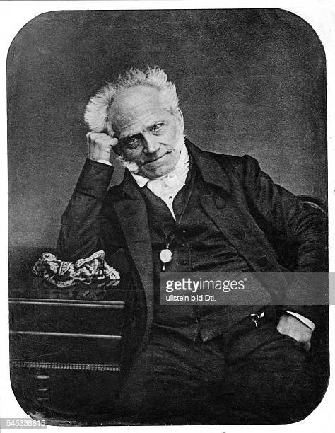 Schopenhauer Arthur *2202178821091860Philosoph D Halbportrait 1855
