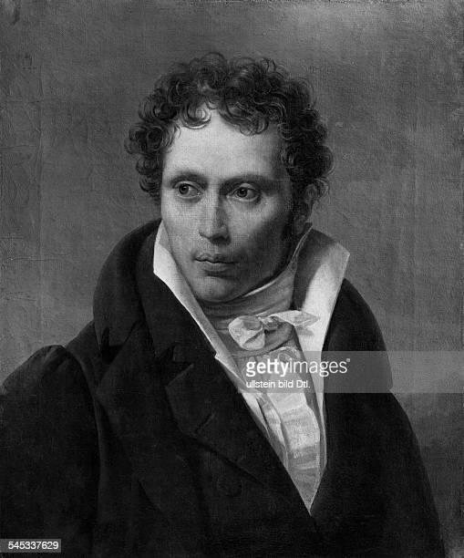 Schopenhauer Arthur *2202178821091860Philosoph D Portrait nach dem Gemaelde von Ludwig Sigismund Ruhl 1815