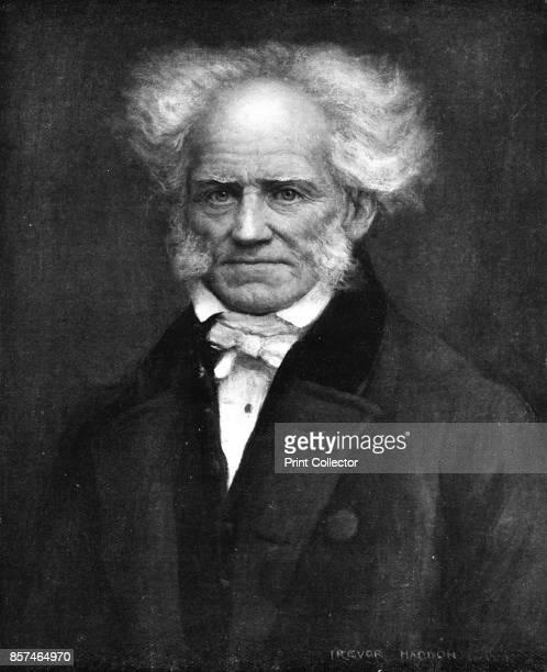 Schopenhauer the German philosopher' circa 1911 Arthur Schopenhauer a German philosopher From Bibby's Annual 1911 [J Bibby Sons Liverpool 1911]...