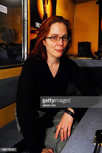 Schriftstellerin Thea Dorn am Rande der 57 Internationalen Filmfestspiele in Berlin