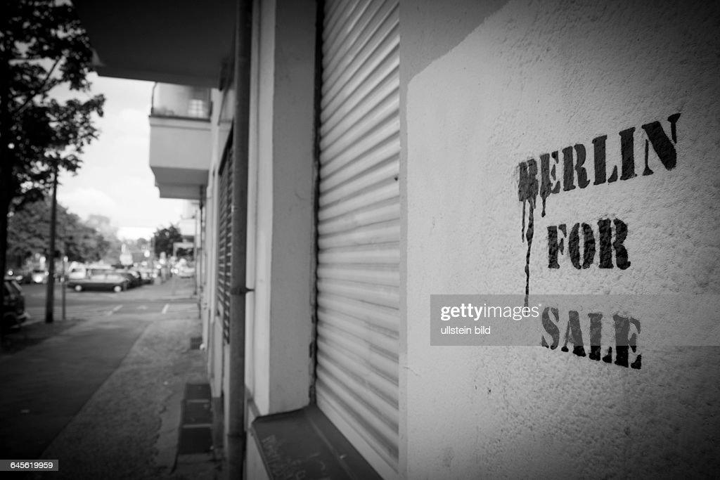 Berlin For Sale - Berlin zu verkaufen : News Photo