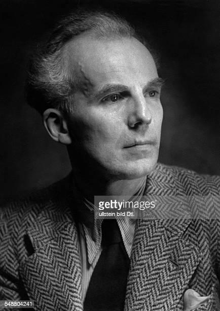 Schueler Johannes Musician conductor Germany *21061894 Highest ranking conductor Staatskapellmeister of the Deutsche Staatsoper Berlin Portrait...