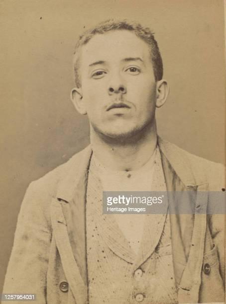 Schul�. Armand. 21 ans, n� le 28/2/73 � Choisy-le-Roi. Comptable. Anarchiste. 2/7/94, 1894. Artist Alphonse Bertillon.