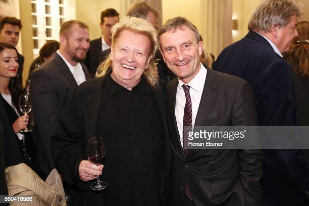 Schult and Thomas Geisel attend the Housewarming Party at Andreas Quartier GmbH on October 11 2017 in Duesseldorf Germany