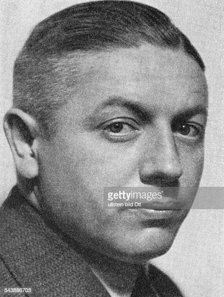 Schulz, Paul - Senior lieutenant, Politician, Nazi Party, Germany*05.02.1898-probably1960+- Head of the Black Reichswehr- Organizer of the...