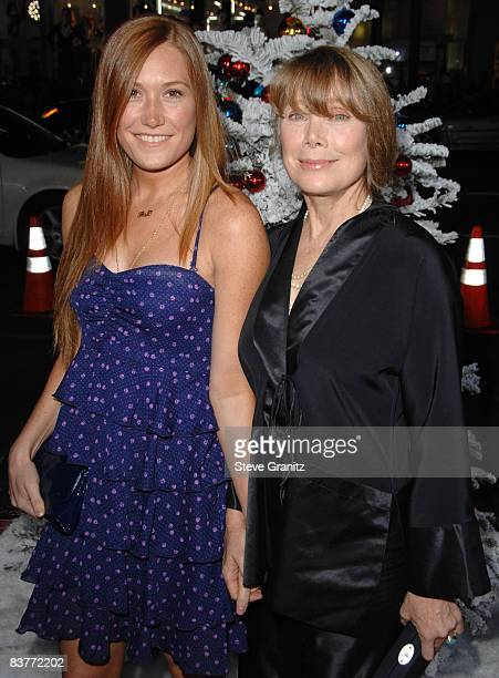 Schuyler Fisk and Sissy Spacek arrives at the Los Angeles Premiere for Four Christmases at the Grauman's Chinese Theater on November 20 2008 in...
