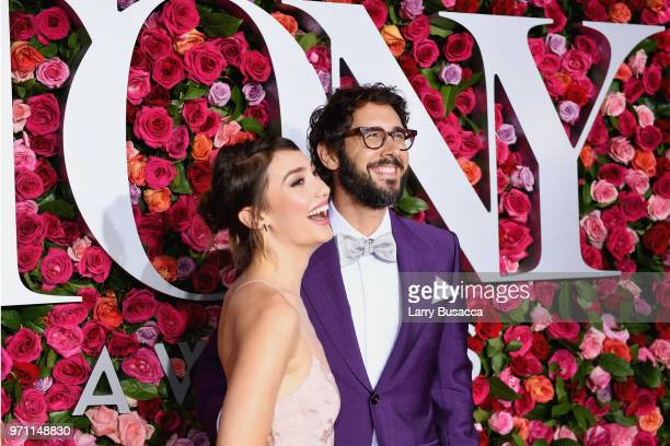 Schuyler Helford and Josh Groban attend the 72nd Annual Tony Awards on June 10 2018 in New York City