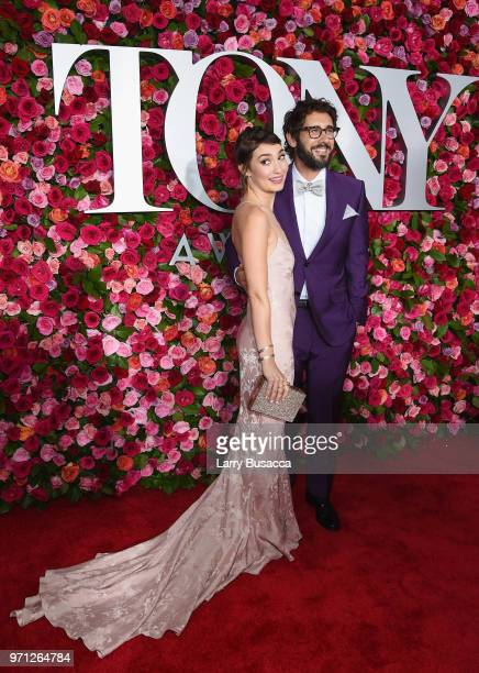 Schuyler Helford and Josh Groban attends the 72nd Annual Tony Awards at Radio City Music Hall on June 10 2018 in New York City
