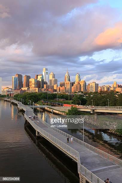 Schuylkill Banks Boardwalk, Philadelphia