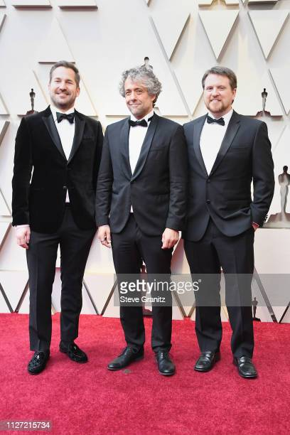 D Schwalm Paul Lambert and Tristan Myles attends the 91st Annual Academy Awards at Hollywood and Highland on February 24 2019 in Hollywood California