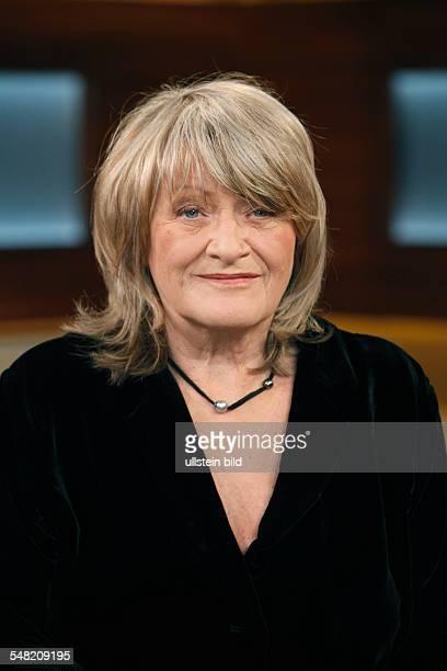 Schwarzer Alice Jounalist Author Germany in the german television show Anne Will