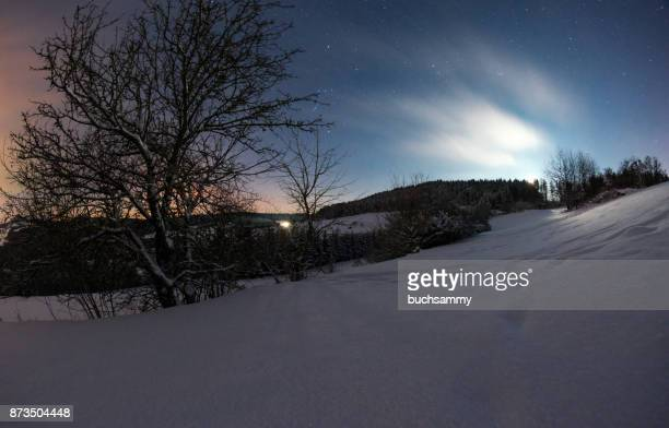 schwarzwald bei nacht - nacht stock pictures, royalty-free photos & images