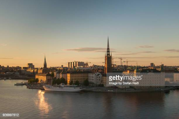 schweden - stockholm - downtown district stock pictures, royalty-free photos & images