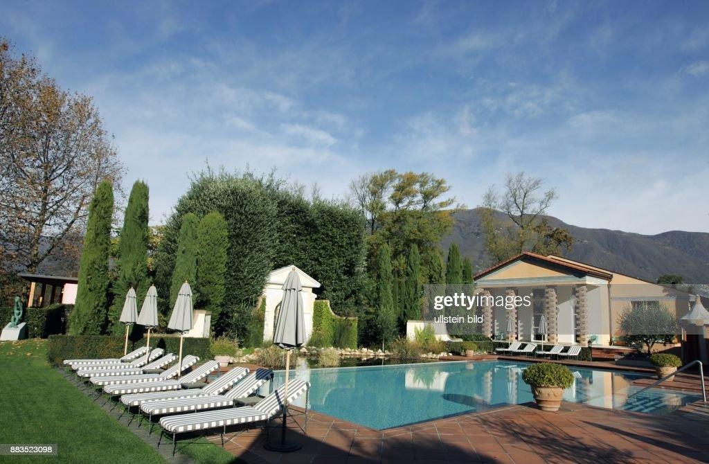 Ascona Hotel Giardino Swimmingpool Und Garten Pictures Getty Images