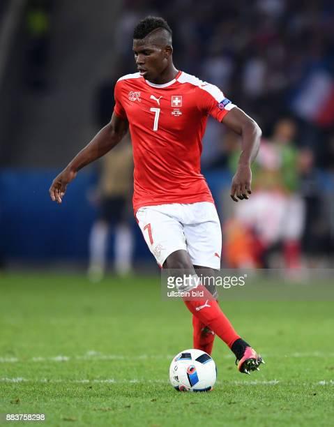 FUSSBALL Schweiz Frankreich Breel Embolo
