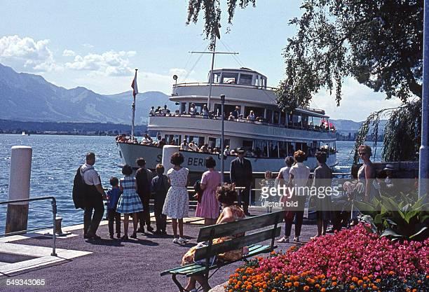 Schweiz um 1964Thunersee Hilterfingen