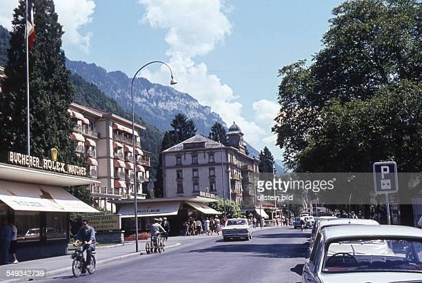 Schweiz, um 1967, Interlaken