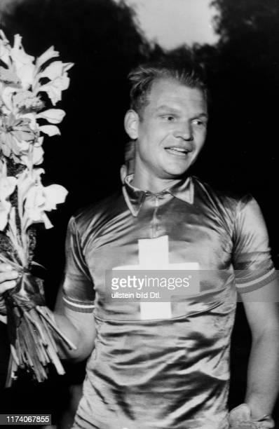 Schweizer Bahn-Meisterschaft 1955: Verfolgungsmeister Jules Frey