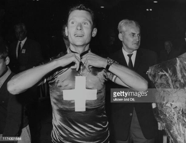 Schweizer Bahn-Meisterschaft 1966: Verfolgungs-Meister Fredy Rüegg