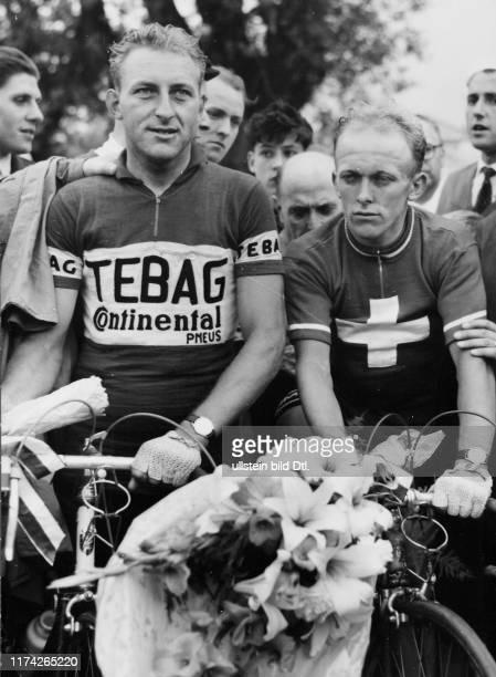Schweizer Meisterschaft 1957: Max Schellenberg und Hans Hollenstein