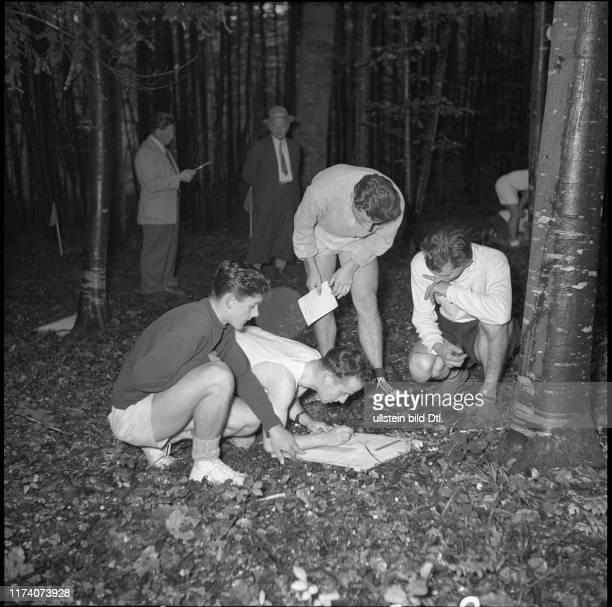 Schweizer OL Meisterschaft in Sihlbrugg / Baar 1953