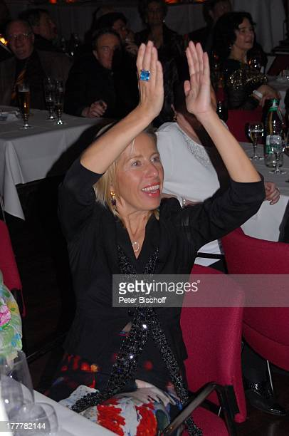 "Schwester von U T E O H O V E N , Geburtstags-Party zum 70. Geburtstag von T O N Y M A R S H A L L, ""Kurhaus Baden-Baden"", Baden-Württemberg,..."