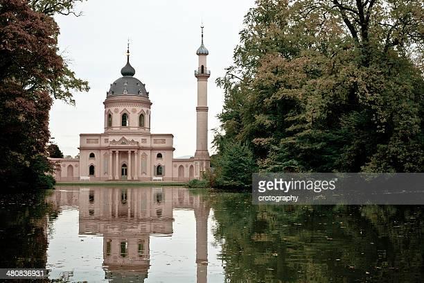 deutschland, schwetzingen-moschee - moschee stock-fotos und bilder